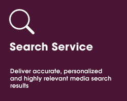 Search Service - Deliver accurate, personalized and highly relevant media search results